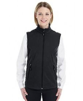 CORE 365 Ladies' Cruise Two-Layer Fleece Bonded SoftShell Vest