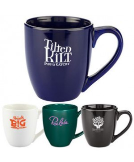 15 Oz. Bistro Style Ceramic Mug
