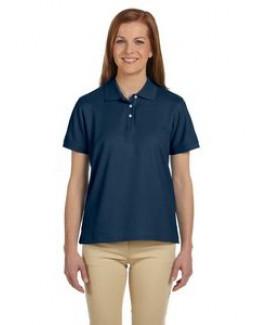 Devon & Jones® Ladies' Pima Piqué Short Sleeve Polo Shirt