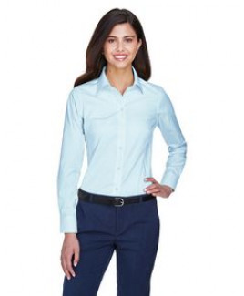 Devon & Jones® Ladies' Crown Woven Collection™ Solid Oxford Shirt