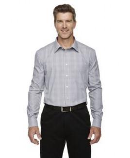 Devon & Jones® Men's Crown Woven Collection™ Glen Plaid Dress Shirt
