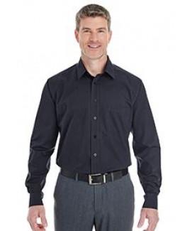 Devon and Jones Men's Crown Woven Collection? StripedShirt