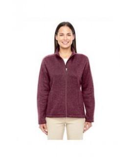 Devon & Jones® Ladies' Bristol Full-Zip Sweater Fleece Jacket