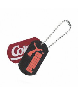 Pad Printed Ball Chain Dog Tag