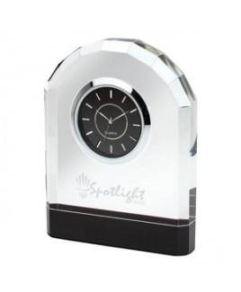 Pomezia Crystal Desk Clock