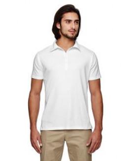 Econscious Men's 4.4 Oz. 100 percent Organic Cotton Jersey Short Sleeve Polo Shirt