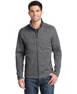 Port Authority® Men's Digi-Stripe Fleece Jacket
