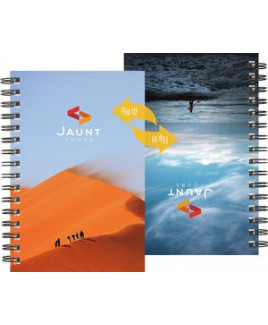 "FlipBooks™ SeminarPad Notebook w/Full-Color Cover (5.5""x8.5"")"