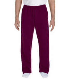 Gildan Adult DryBlend® Adult 9 oz., 50/50 Open-Bottom Sweatpants