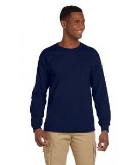 Gildan® Ultra Cotton® 6 Oz. Long-Sleeve Pocket T-Shirt
