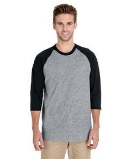 Gildan® Heavy Cotton™ Adult 5.3 Oz. ¾ Raglan Sleeve T-Shirt