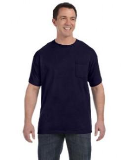 Hanes Printables Men's 6.1 oz. Tagless® Pocket T-Shirt