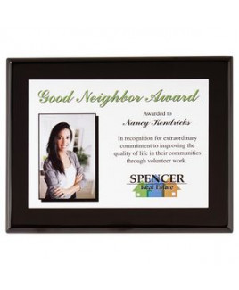 Onyx Small Plaque Award