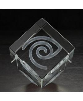Extra Large Jewel Cube 3D Crystal Award