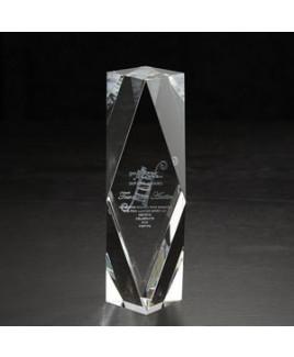 Medium Chairmans 3D Crystal Award