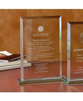 Beveled Rectangle - Large Award