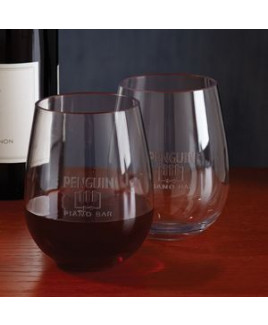 Stemless Red Wine Glass - Set of 4