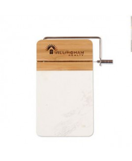 Marble and Bamboo Cutting Board