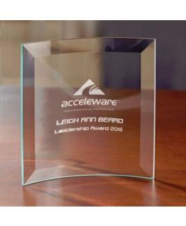 Jade Square Crescent - Small Award