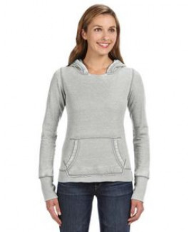 J AMERICA Ladies' Zen Pullover Fleece Hood