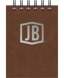 """Luxury Cover Series 4 Small JotterPad w/Black Paperboard Back Cover (3.5""""x5"""")"""