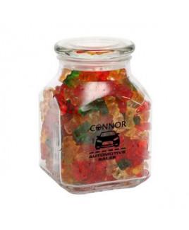 Gummy Bears in Lg Glass Jar