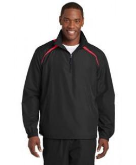 Sport-Tek® Men's 1/2-Zip Wind Shirt
