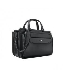 Solo Harrison Triple Compartment Briefcase