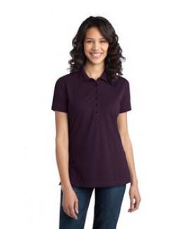 Port Authority® Ladies Stretch Pique Polo Shirt