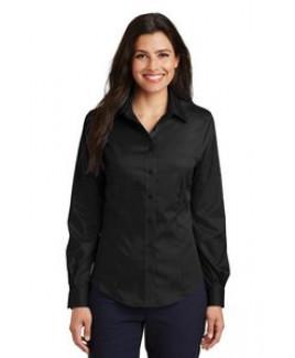 Port Authority® Ladies Long Sleeve Non-Iron Twill Shirt