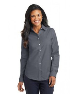 Ladies Port Authority® SuperPro™ Oxford Shirt