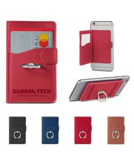 Tuscany™ Duo Card Pocket w/Metal Ring