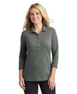 Port Authority® Ladies' Coastal Cotton Blend Polo Shirt