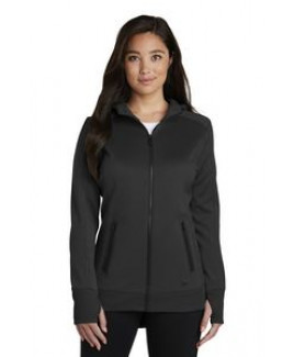 New Era® Ladies' Venue Fleece Full-Zip Hoodie