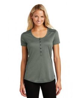 OGIO® Ladies Orbit Henley Shirt
