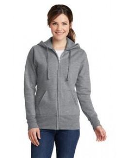 Port & Company® Ladies' Core Fleece Full-Zip Hooded Sweatshirt