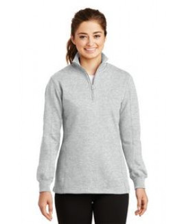 Sport-Tek® 1/4 Zip Ladies' Sweatshirt
