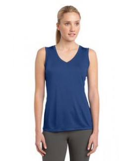 Sport-Tek® Ladies' Sleeveless PosiCharge® Competitor™ V-Neck Tee
