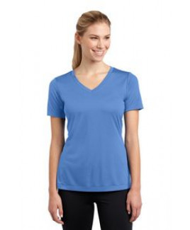 Sport-Tek® PosiCharge® Ladies' Competitor™ V-Neck Tee Shirt