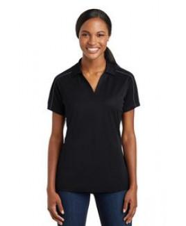 Sport-Tek® Ladies Micropique Sport-Wick® Piped Polo Shirt