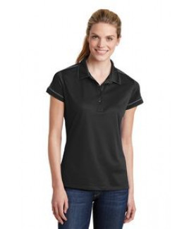 Sport-Tek® Ladies Contrast Stitch Micropique Sport-Wick® Polo Shirt