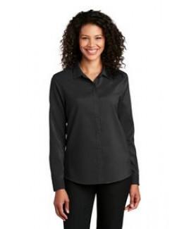 Port Authority® Ladies Long Sleeve Performance Staff Shirt