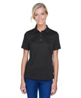 Harriton® Ladies' Advantage IL Snap Placket Performance Polo Shirt