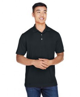 Harriton® Men's Double Mesh Polo Shirt
