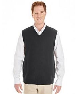 Harriton® Pilbloc™ V-Neck Men's Sweater Vest