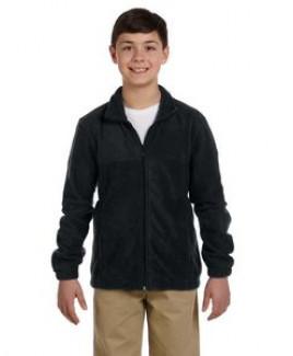 Harriton Youth 8 oz. Full-Zip Fleece