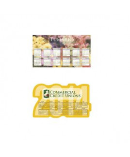 BIC® Calendar & Schedule Magnet (20 Mil) - Year & Large