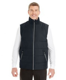 North End® Men's Engage Interactive Insulated Vest