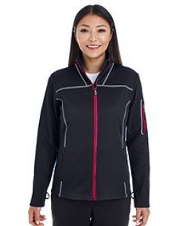 NORTH END Ladies' Endeavor Interactive Performance Fleece Jacket