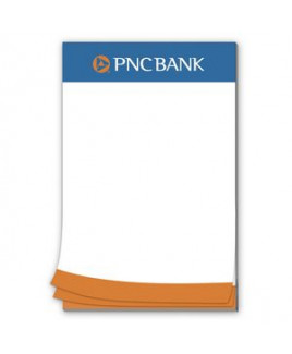 50 Page 5-1/2 x 8-1/2 Paper Note Pad
